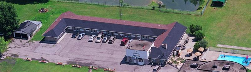 Aerial View of Wainfleet Motel